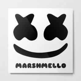 Marshmello simple logo Metal Print