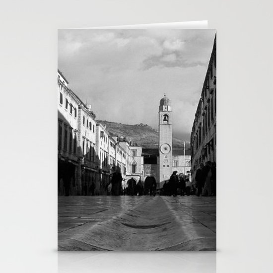 Marble Gutter Stationery Cards