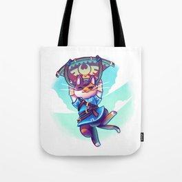 Cosplay Kittens - Kitten of The Wild Tote Bag