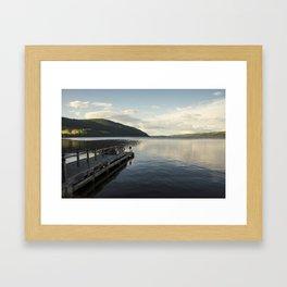 Loch Ness Pier  Framed Art Print