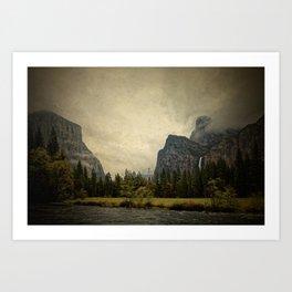 Yosemite - Study 87 Art Print