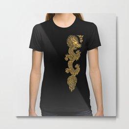 Gold Dragon Ball Z Shen long Art iPhone 4 4s 5 5c, ipod, ipad, tshirt, mugs and pillow case Metal Print