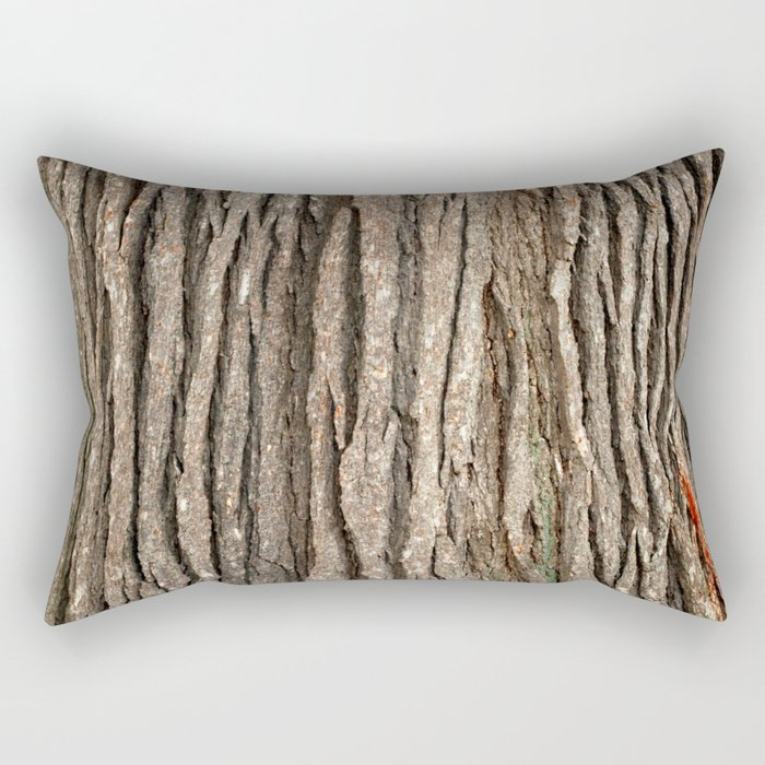 Wood bark Rectangular Pillow