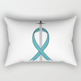 Fight for PCOS Rectangular Pillow