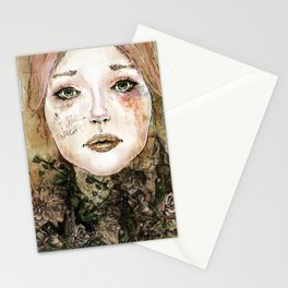 Indelicate Thorns Stationery Cards