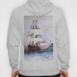 The Sea Lion in full sail Hoody