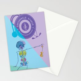 Ukulele Baby Stationery Cards