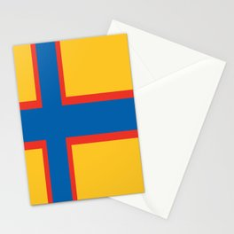 flag of Ingria Stationery Cards