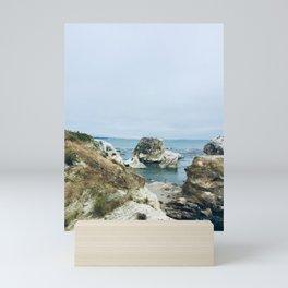 Pismo Beach Cliffs Mini Art Print