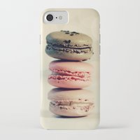 macarons iPhone & iPod Cases featuring macarons . . . by [o] Suze q