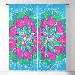 Love Bloom Blackout Curtain