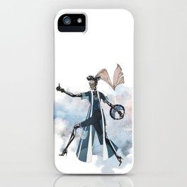 Blue New York City iPhone Case