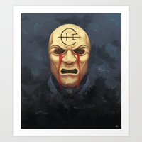 dishonored Art Prints featuring Weeping Overseer - Dishonored by LunarScreams