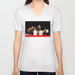 Cotton Club Crooners Unisex V-Neck