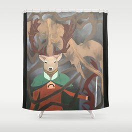 Herne the Hunter Shower Curtain