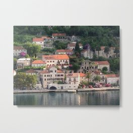 Getting Excited Montenegro Metal Print