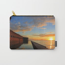 Fort Jefferson, Dry Tortugas Carry-All Pouch