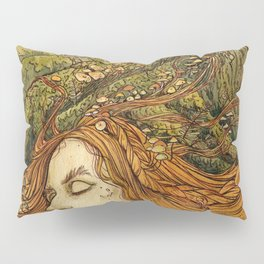 Forest Lady Pillow Sham