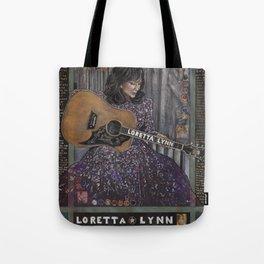 Loretta Lynn Tote Bag