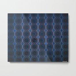 INSIDEOUT/Dark Blue Metal Print