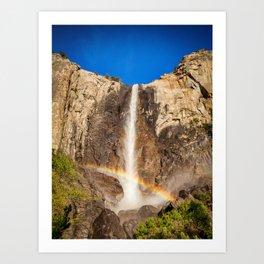 Bridalveil Fall, Yosemite Art Print