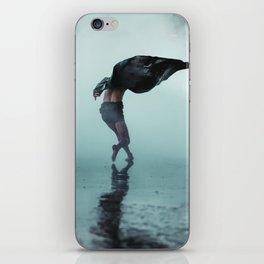 Dance wind iPhone Skin