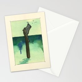 Animal's Alphabet - I for 'Ippopotamo' Stationery Cards