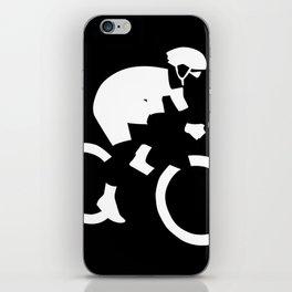 Cyclist iPhone Skin
