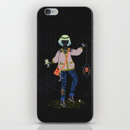 Witch Series: Voodoo Doll iPhone Skin