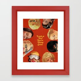 Look at You! Framed Art Print