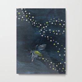 Trail of Stars Metal Print
