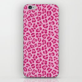 Leopard - Lilac and Pink iPhone Skin