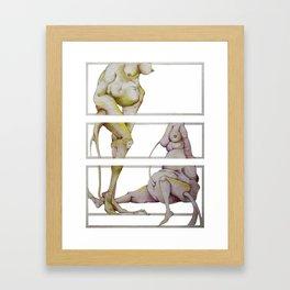 Amorf Framed Art Print