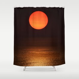 The Smoke Filtered Light from the Sonoma County Fires Shower Curtain