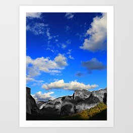 Tunnel View, Yosemite National Park, Fall 2013, Select Colour Art Print