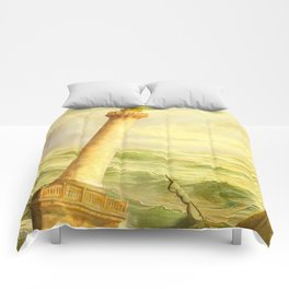 The Fall of Alexandria Comforters