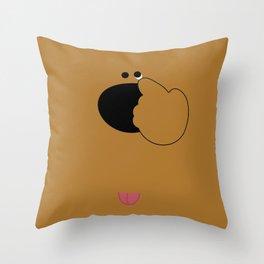 あっかんべぇ Throw Pillow