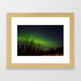 Arctic Lights Framed Art Print