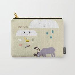 Rain dear Carry-All Pouch