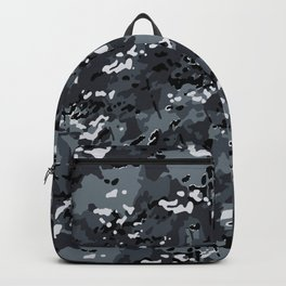 Slate Gray Popular Multi Camo Pattern Backpack