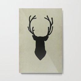 Le cerf my deer. Metal Print