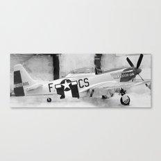 Galveston Air Museum III Canvas Print
