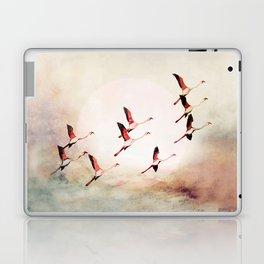 Flock of Flamingos Laptop & iPad Skin