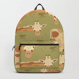 Giraffe, African Wildlife Backpack
