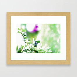 Blueberry Delight Framed Art Print