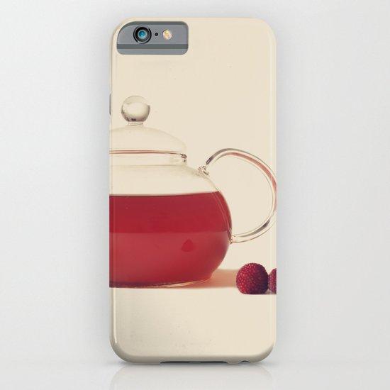Raspberry Tea (Retro and Vintage Still Life Photography) iPhone & iPod Case