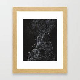 Wolf - The Uneasy Chill Framed Art Print