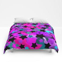 Punk Rock Star Crazy Comforters
