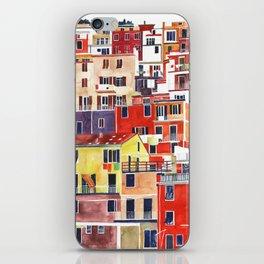 Cinque Terre vol 3 iPhone Skin