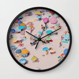 To the Beach! Wall Clock